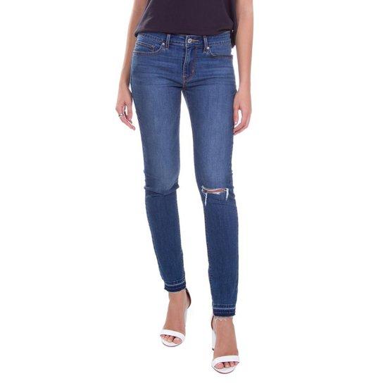 08037228a379c Calça Jeans Levis 711 Skinny Média Feminina - Compre Agora