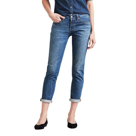 f0a7b11fc569c Calça Jeans Levis 501 Taper Média Feminina - Compre Agora