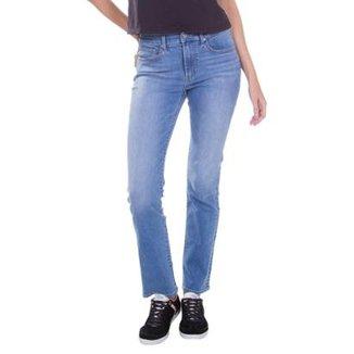 Calça Jeans Levis 724 High Rise Straight Média Feminina aaaf6a9d2d9