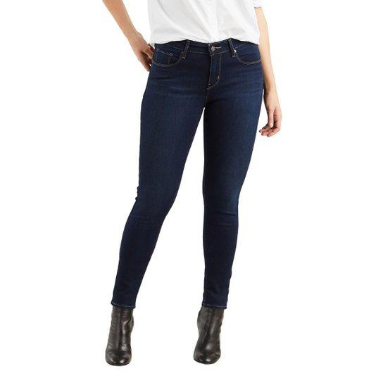 9af639346e162 Calça Jeans Levis 811 Curvy Skinny Escura Feminina - Compre Agora ...