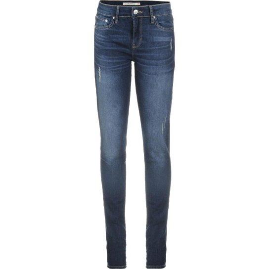 95250971ddd47 Calça Jeans Levis 711 Skinny Feminina - Azul - Compre Agora