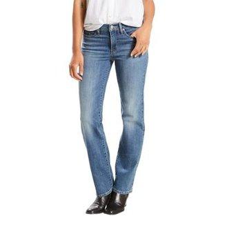 f6ac7e235 Calça Jeans Levis Shaping Straight Feminina