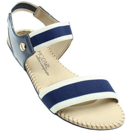 6eb913493 Sandália Modare Verniz Premium Elástico Feminina | Zattini