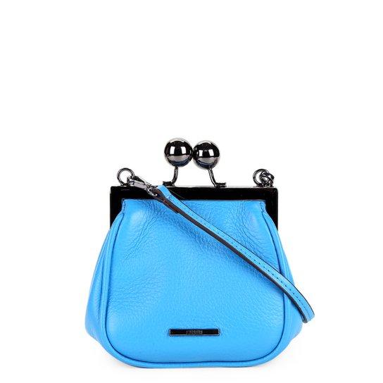 7ec78a830 Bolsa Couro Carmim Mini Bag Fátima Feminina - Azul | Zattini
