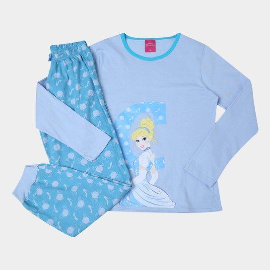 0222bc9265 Pijama Infantil Lupo Longo Princesas Cinderela Feminino - Compre ...