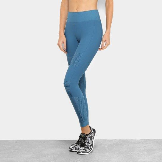 3aeadfe6c Calça Lupo Legging AF Nerv. Shine Feminina - Azul - Compre Agora ...
