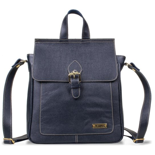 Bolsa Mochila Feminina Artlux - Azul - Compre Agora   Zattini 8a4478a44a
