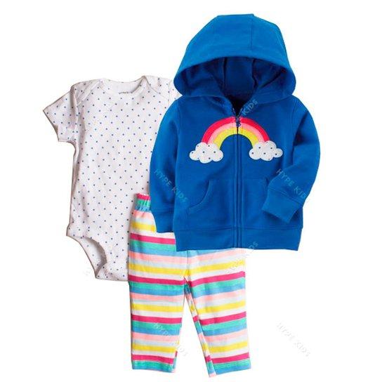 Conjunto Bebê Moletom Carter S Arco Íris Feminino - Compre Agora ... e04e4e2cf0