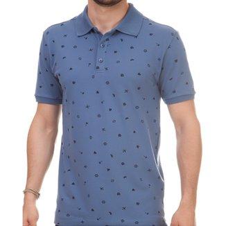 960971d5fa Camisa Pau a Pique Polo Masculina
