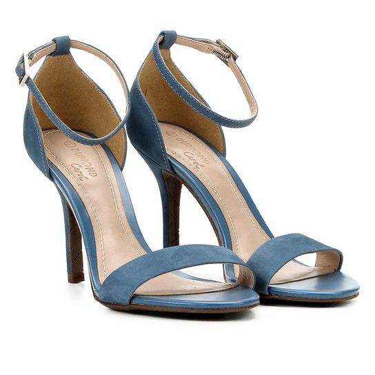 0e3067f865 Sandália Dumond Salto Fino Feminina - Azul - Compre Agora