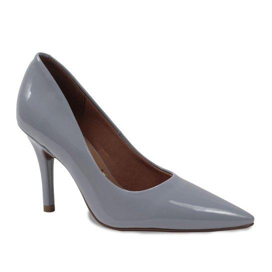 0507f1cc9d Sapato Scarpin Feminino Vizzano Bico Fino - Azul