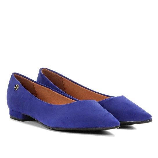 08820d6711 Sapatilha Vizzano Bico Fino Básica Feminina - Azul - Compre Agora ...