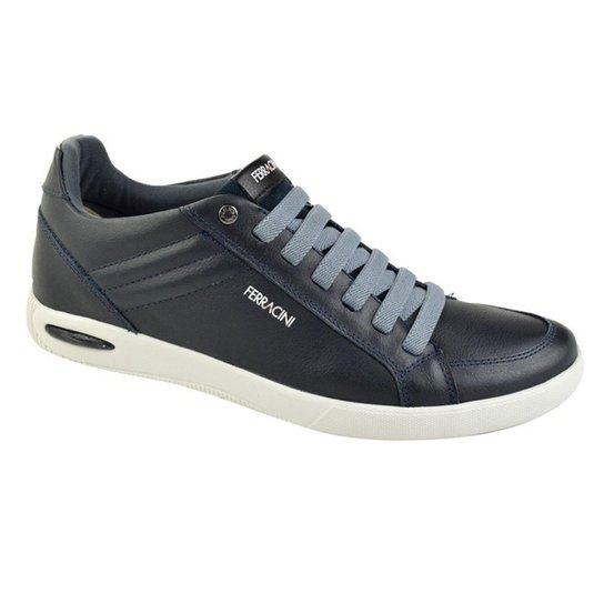 139b5ed8c51 Sapatênis Ferracini Blady Masculino - Azul e Preto - Compre Agora ...