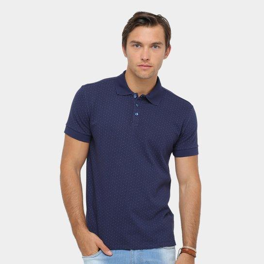 Camisa Polo Colcci Poá Maquinetado Masculina - Compre Agora  25be63dfc263d