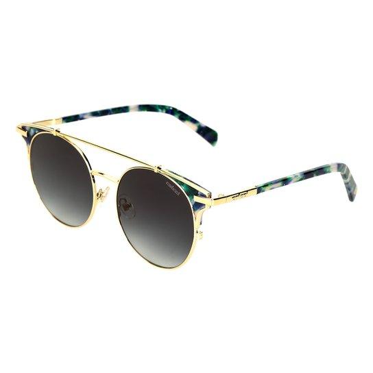6fc4d1c7e Óculos de Sol Colcci Demi Brilho Feminino - Azul | Zattini
