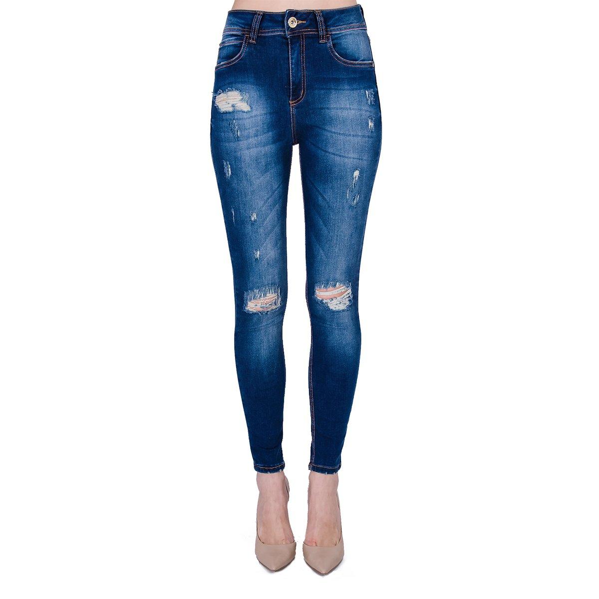 76f4108b8 Calça Jeans Skinny ower Colcci Feminina - Compre Agora