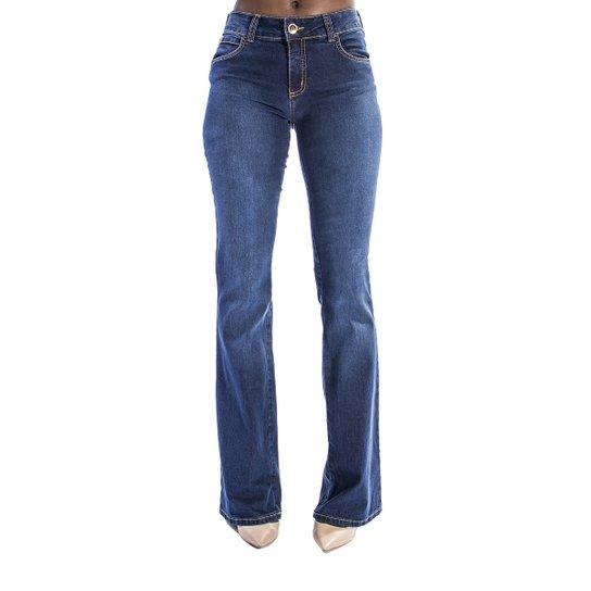 f3fbfffff Calça Jeans Flare Fátima Colcci - Azul | Zattini