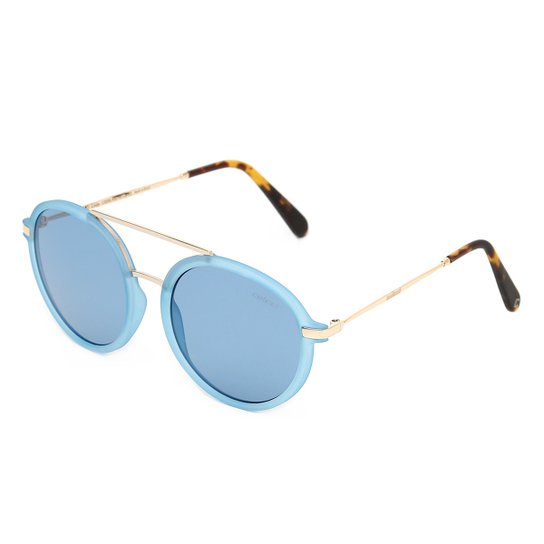 8ef0d1233f691 Óculos de Sol Colcci Cindy C0096K6266 Feminino - Azul - Compre Agora ...
