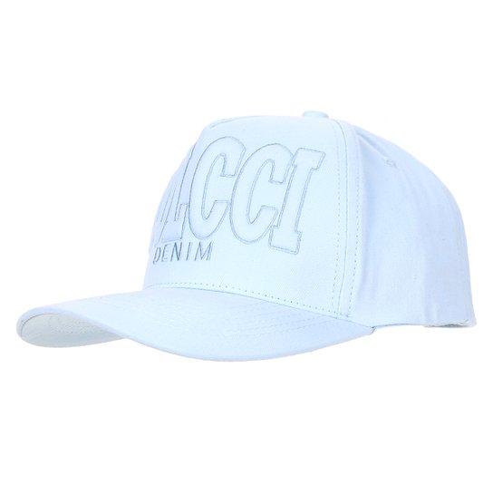Boné Aba Curva Colcci Bordado Masculino - Azul - Compre Agora  93b9ec21659