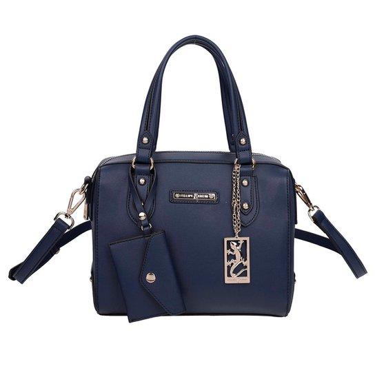 17f82fa34 Bolsa Baú Fellipe Krein Feminina - Azul - Compre Agora | Zattini