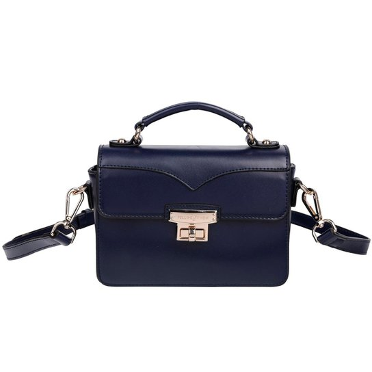 dd19e3dd1 Bolsa Tiracolo Fellipe Krein Feminina - Azul - Compre Agora | Zattini