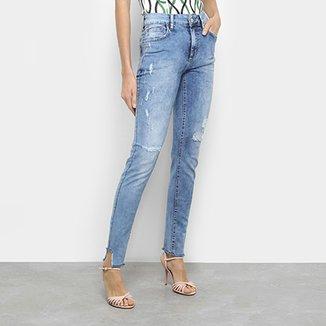Calça Jeans Skinny Fórum Marisa Cintura Média Feminina f6356c6fe47