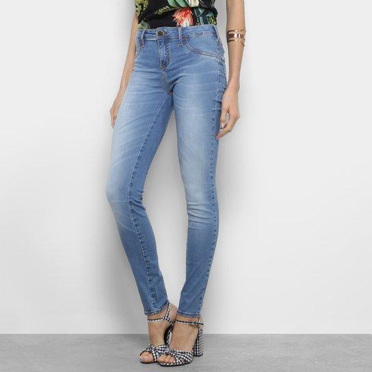 b532604c025d14 Calça Jeans Skinny Fórum Raquel Feminina - Azul - Compre Agora