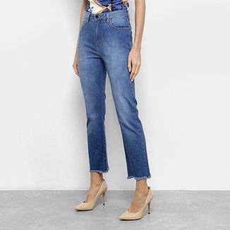Calça Jeans Skinny Fórum Marisa Cintura Média Feminina d8bc95701c0