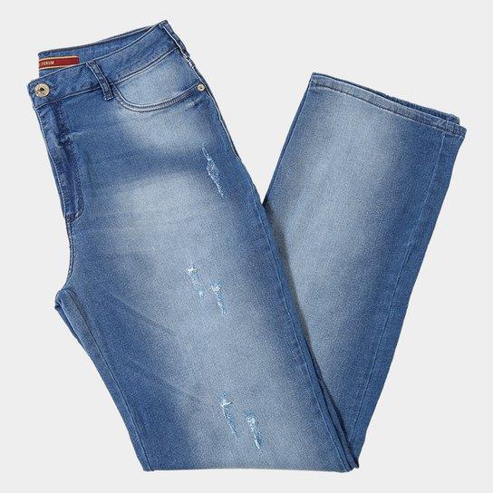 f593452ddd Calça Jeans Slim Forum Marisa Cintura Média Feminina - Compre Agora ...