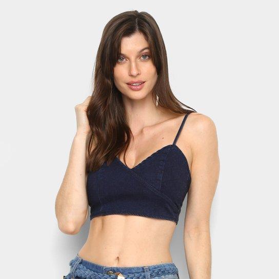 d03e06c9d99d80 Regata Jeans Cropped Forum Feminina - Compre Agora