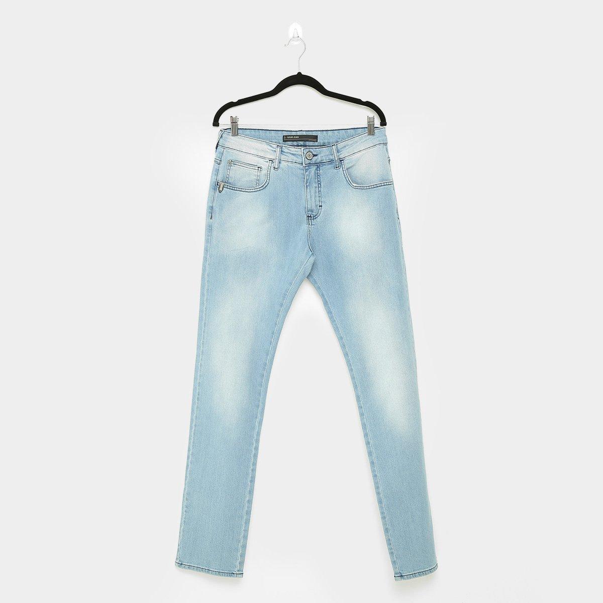 Calça Jeans Forum Paul Slim Masculina