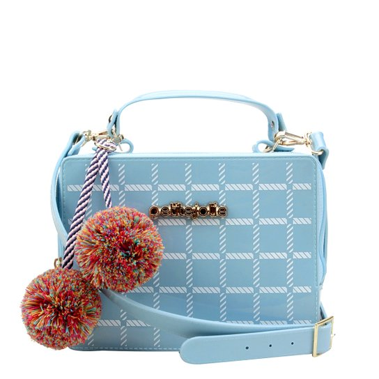 c1328481b Bolsa Petite Jolie Mini Bag Box Xadrez Feminina - Compre Agora
