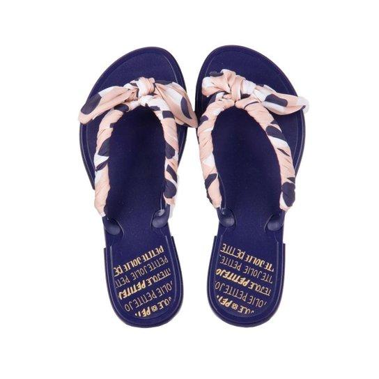 b1fa786fe0 Chinelo Petite Jolie Up Navy Feminino - Azul - Compre Agora