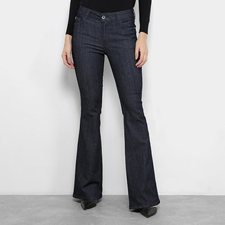 072281d2f Calças Jeans Flare Ellus Lake Elastic Feminina