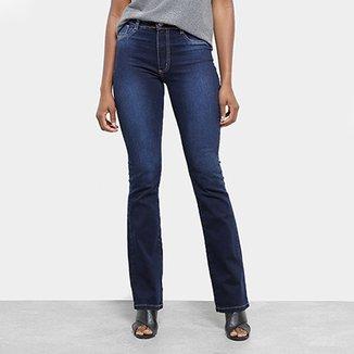 26a5b2c3b1 Calça Jeans Flare Sawary Cintura Média Feminina