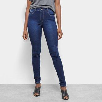 e258d2882 Calça Jeans Skinny Sawary Cintura Média Feminina