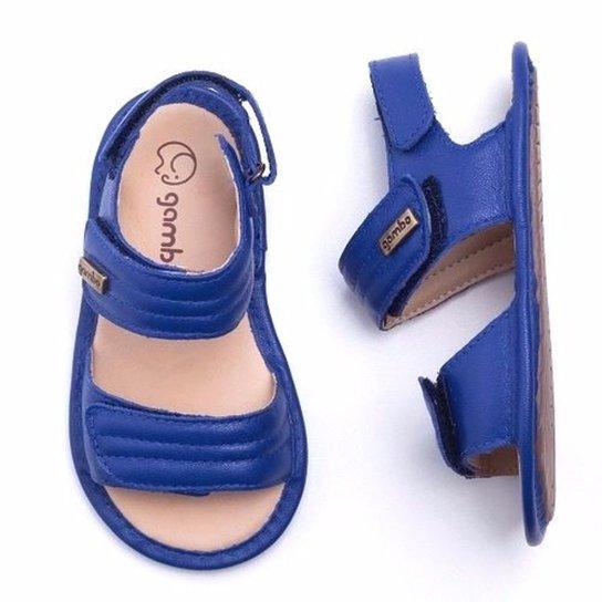 79c12ba45 Sandália Bebê Gambo Comfort Masculina - Azul - Compre Agora