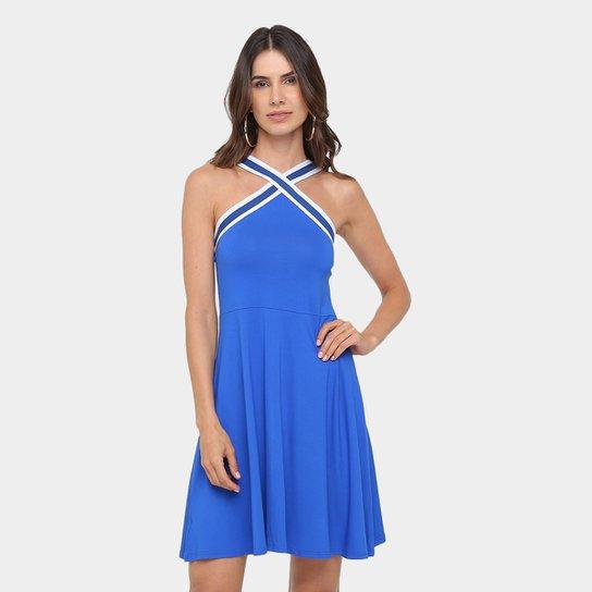 bb1d9570f Vestido Malwee Evasê Curto Alça Cruzada - Compre Agora | Zattini