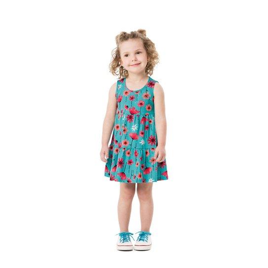 ba4445c129 Vestido floral infantil Malwee Kids - Compre Agora