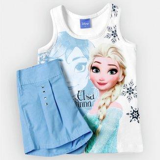 Conjunto Brandili Frozen Infantil d6496aa35e8