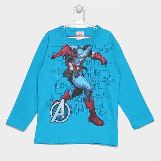 Camiseta Brandili Marvel Avengers I Infantil - Compre Agora  da9a5ab2b199e