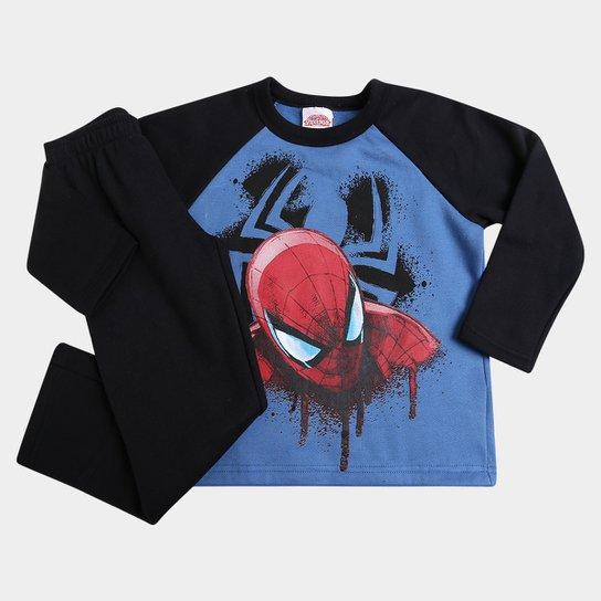 699ff6cff30c3 Conjunto Brandili Moletom Spider Man Infantil - Compre Agora
