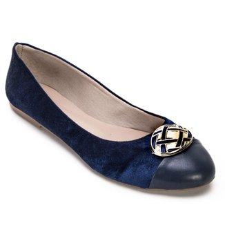 147c0d3a9 Sapatilhas Angela Shoes Feminino Azul - Calçados | Zattini