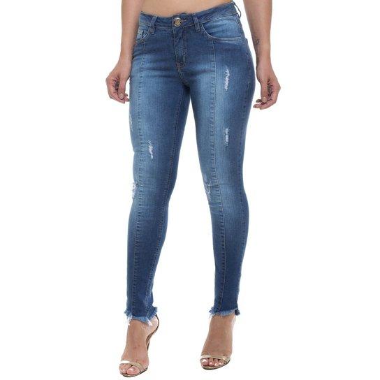 f8314045d Calça Jeans Cigarrete Skinny Z-32 Feminina - Compre Agora | Zattini