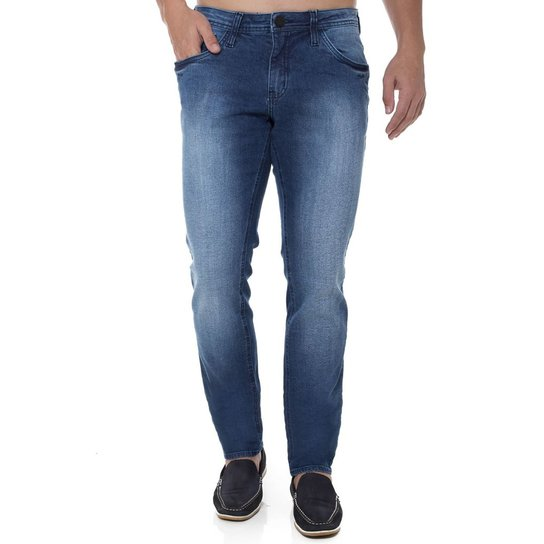 Calça Jeans Skinny Z-32 Masculina - Compre Agora  43e8b81bd14