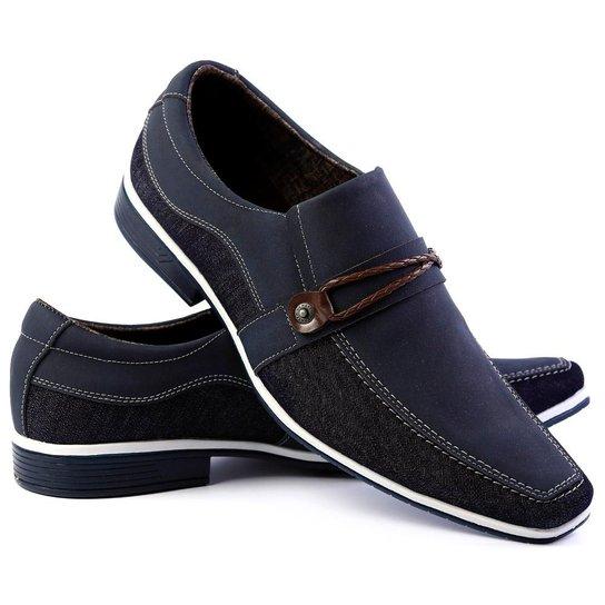 bcd7c6031e2 Sapato Social Venetto Thor Confort Masculino - Azul - Compre Agora ...