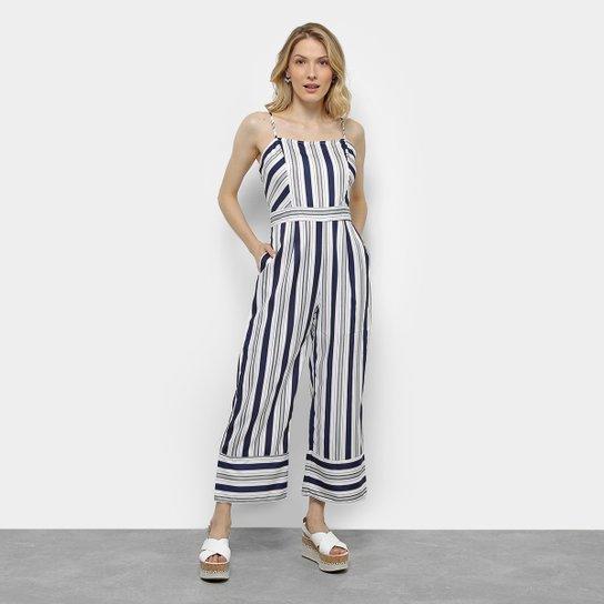 ae86d95b0 Macacão Pantacourt Listrado Lily Fashion Feminino - Compre Agora ...