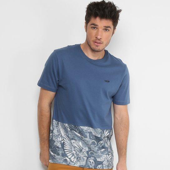 7aa533f0ac Camiseta MCD Especial Bird Bloom Masculina - Azul - Compre Agora ...