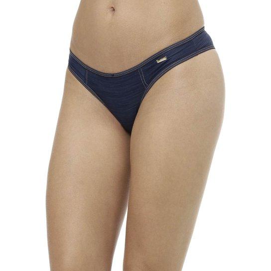 f7cb2279f Calcinha Feminina Azul marinho - Compre Agora