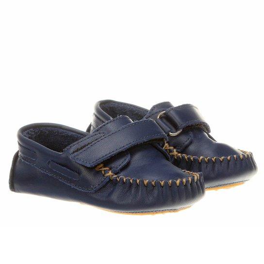 b30846e98 Mocassim Toke Infantil - Azul Escuro